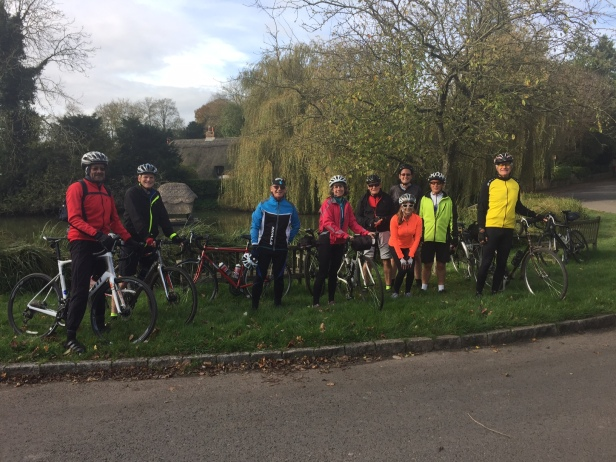 Sunday 29 October Moderate riders as Crawley Duck Pond